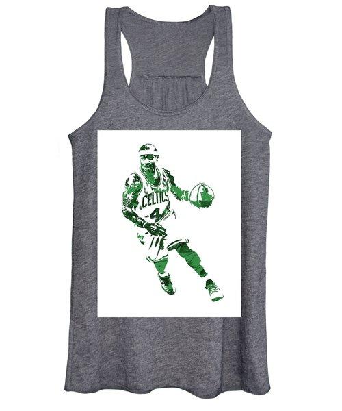 Isaiah Thomas Boston Celtics Pixel Art 6 Women's Tank Top