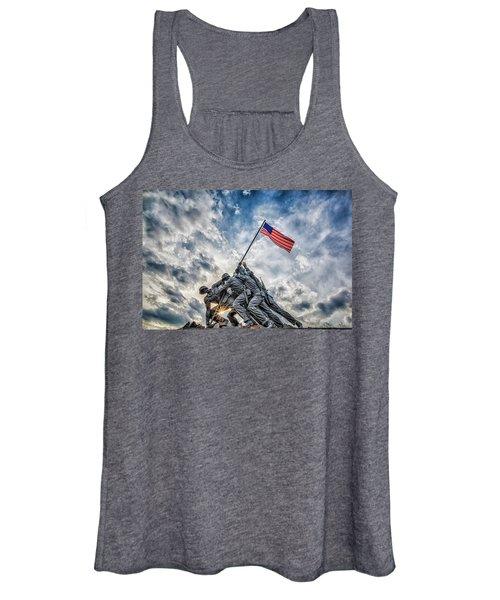 Iwo Jima Memorial Women's Tank Top