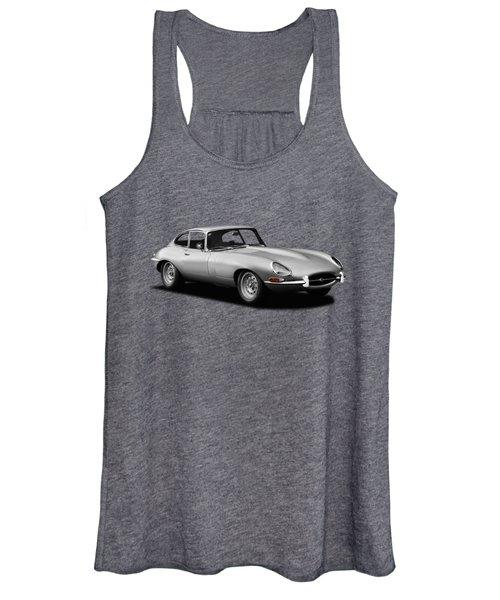 Jaguar E-type Series 1 Women's Tank Top