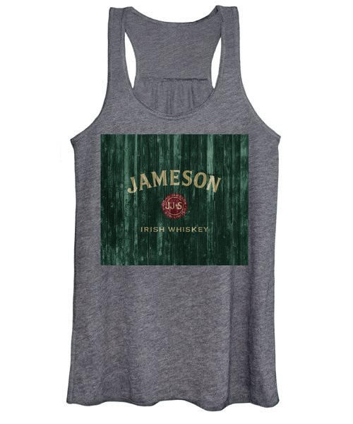 Jameson Irish Whiskey Barn Door Women's Tank Top