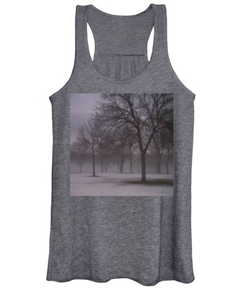 January Fog 4 Women's Tank Top