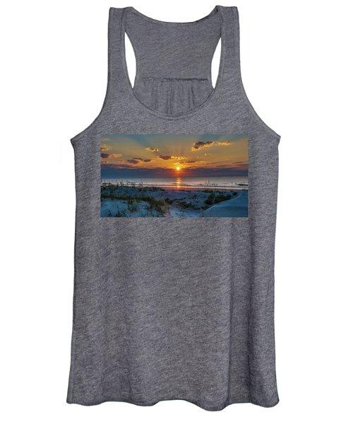 Jekyll Island Sunrise Women's Tank Top