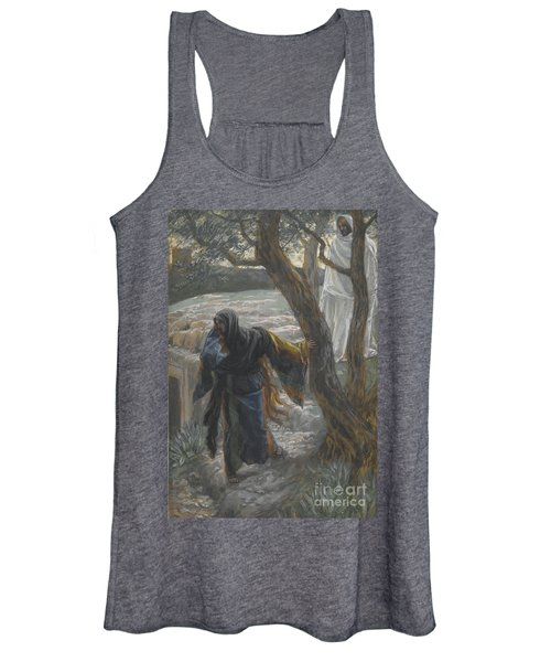 Jesus Appears To Mary Magdalene Women's Tank Top
