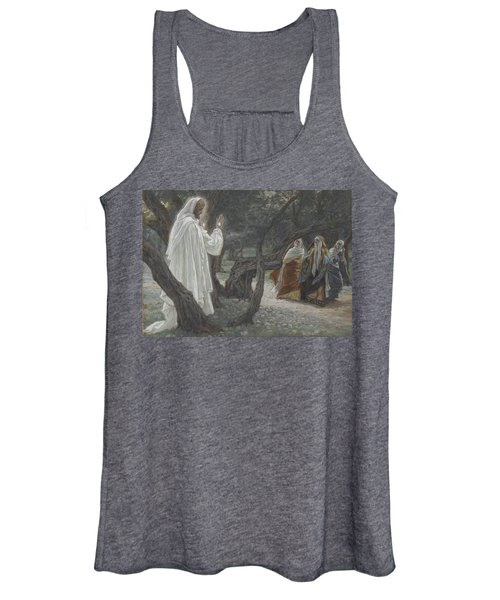 Jesus Appears To The Holy Women Women's Tank Top