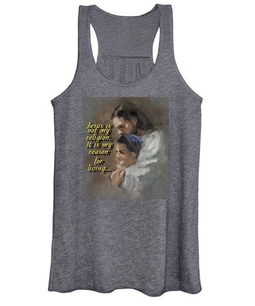 Jesus Is Not My Religion Women's Tank Top