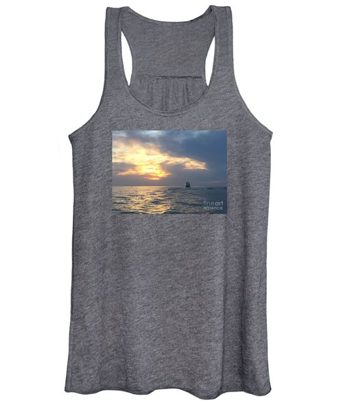 Watching Over The Inlet Women's Tank Top