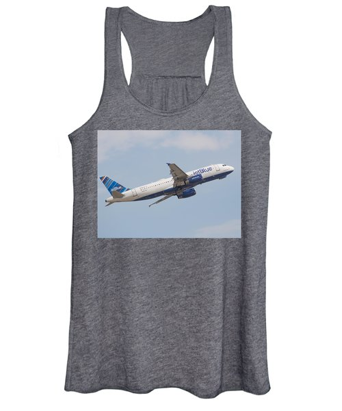Jet Blue Women's Tank Top