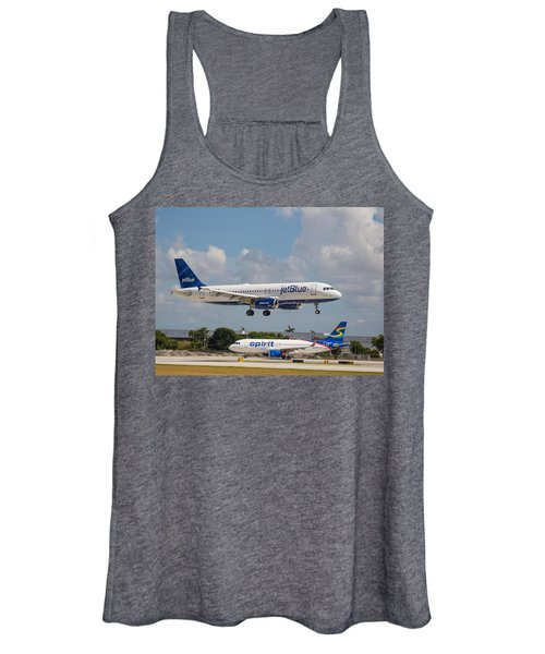 Jetblue Over Spirit Air Women's Tank Top