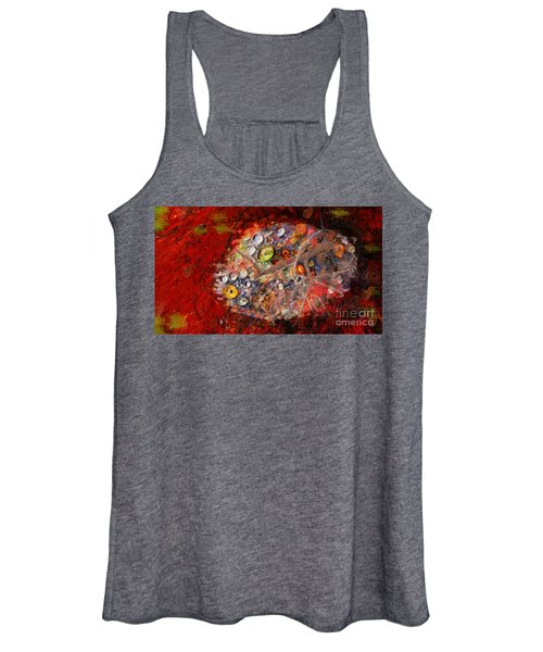 Jewels And The Japanese Maple Women's Tank Top
