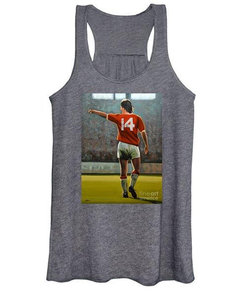 Johan Cruyff Oranje Nr 14 Women's Tank Top