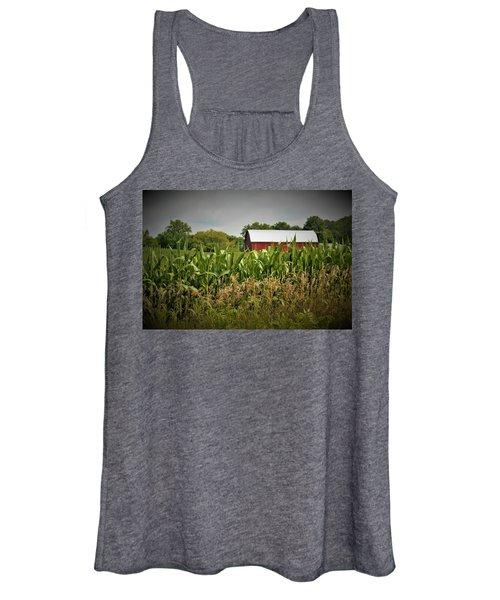 0020 - July Corn Women's Tank Top