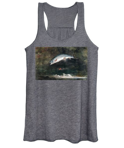 Jumping Trout Women's Tank Top