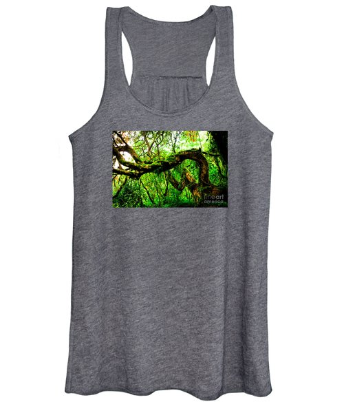 Jungle Forest Himalayas Mountain Nepal Women's Tank Top