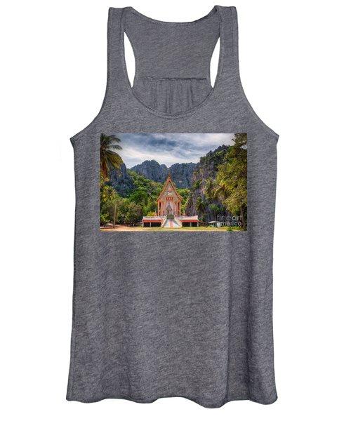 Jungle Temple Women's Tank Top