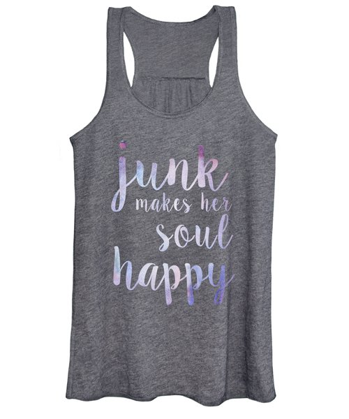 Junk Makes Her Soul Happy Women's Tank Top