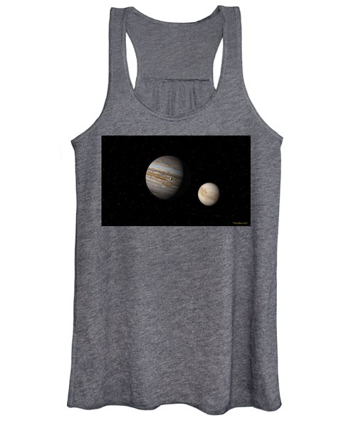 Jupiter With Io And Europa Women's Tank Top