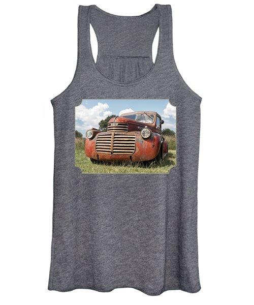 Just Resting - Vintage Gmc Truck Women's Tank Top