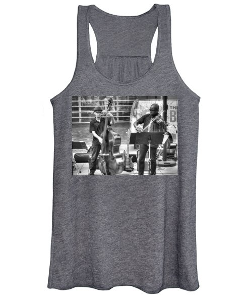 Women's Tank Top featuring the photograph Just The Strings by Michael Colgate