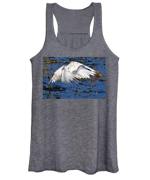 Juvenile Little Blue Heron Women's Tank Top