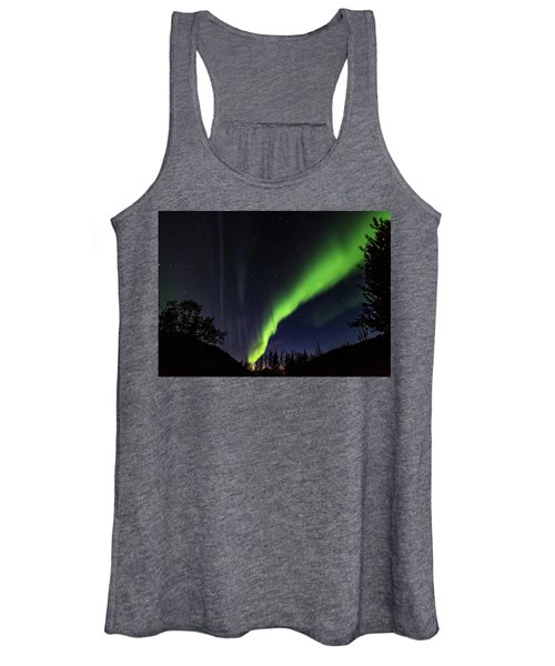 Kantishna Northern Lights In Denali National Park Women's Tank Top