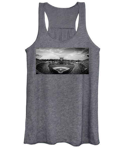 Kauffman Stadium - Bw Pano Women's Tank Top