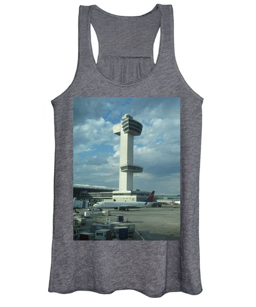 Kennedy Airport Control Tower Women's Tank Top