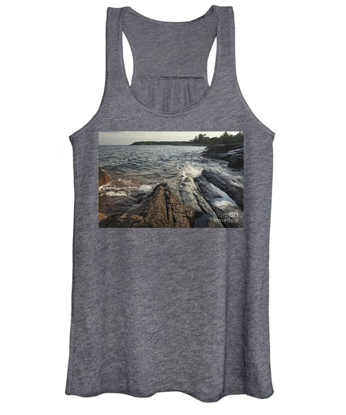 Killarney Shore Splash-4379 Women's Tank Top