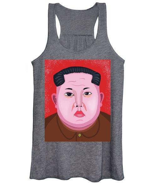 dc11bcc44 Kim Jong Un Women's Tank Tops | Fine Art America