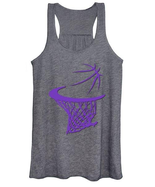 Kings Basketball Hoop Women's Tank Top