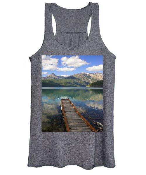 Kintla Lake Dock Women's Tank Top