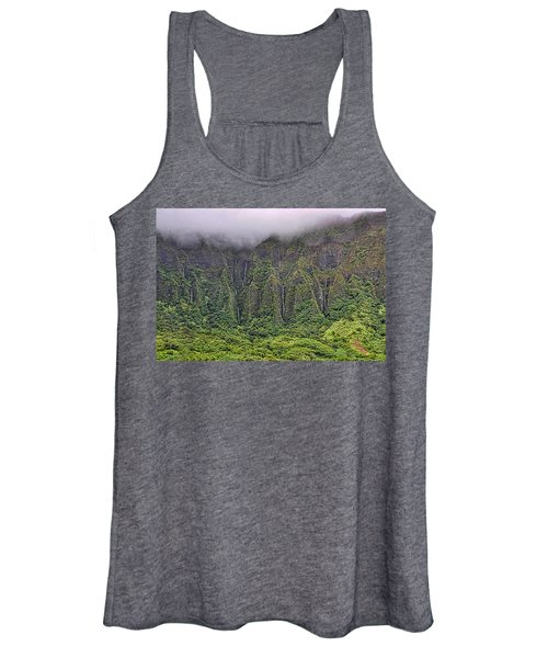 Ko'olau Waterfalls Women's Tank Top