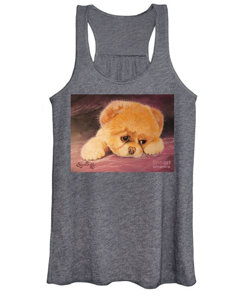 Flying Lamb Productions     Koty The Puppy Women's Tank Top