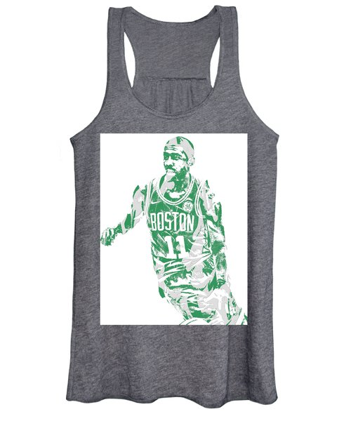 Kyrie Irving Boston Celtics Pixel Art 6 Women's Tank Top