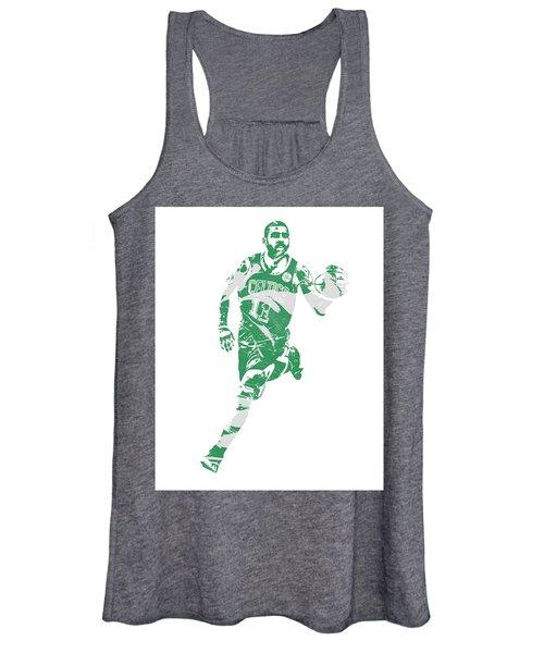 Kyrie Irving Boston Celtics Pixel Art 60 Women's Tank Top