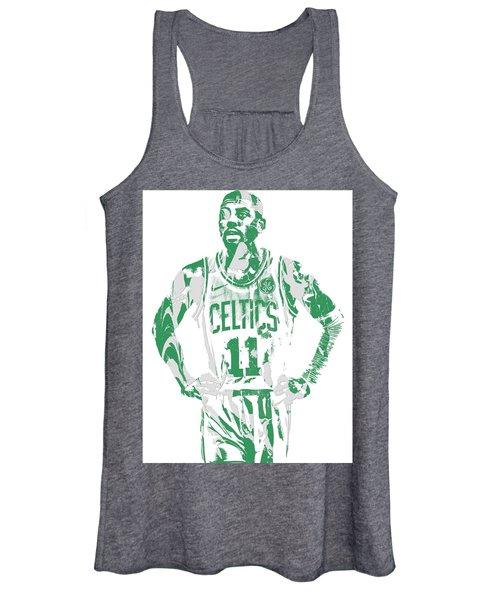 Kyrie Irving Boston Celtics Pixel Art 8 Women's Tank Top