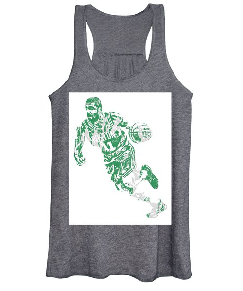 Kyrie Irving Boston Celtics Pixel Art 9 Women's Tank Top