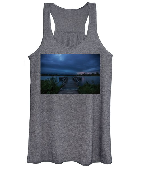 Lake Alvin Shelf  Women's Tank Top