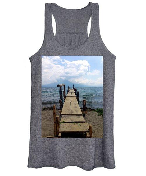 Lake Atitlan Dock Women's Tank Top