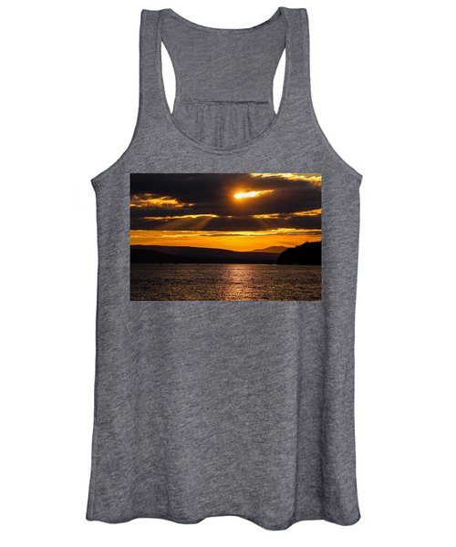 Lake Champlain Sunset Women's Tank Top
