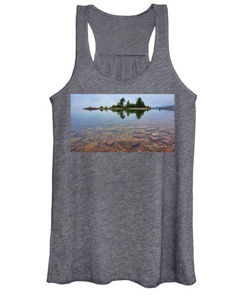 Lake Huron Island Women's Tank Top