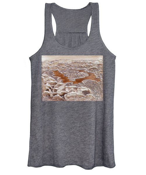 Lake Placid From Whiteface Mountain Women's Tank Top