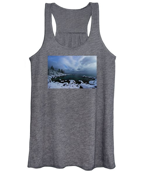 Lake Tahoe Snow Day Women's Tank Top