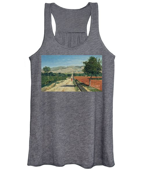 Landscape In Provence Women's Tank Top