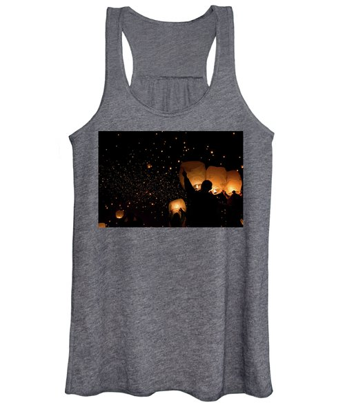 Lantern Fest Group Women's Tank Top