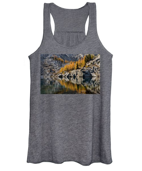 Larch Reflection In Enchantments Women's Tank Top