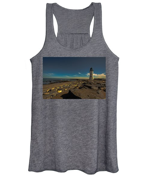 Late Light At The Light Women's Tank Top