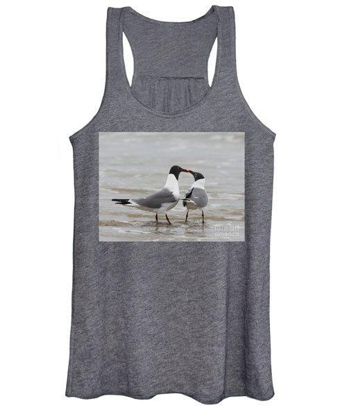 Laughing Gulls In Love Women's Tank Top