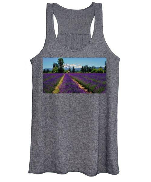 Lavender Valley Farm Women's Tank Top
