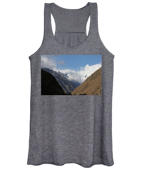 Layers Of Mountains Women's Tank Top