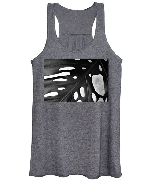 Leaf With Holes Women's Tank Top